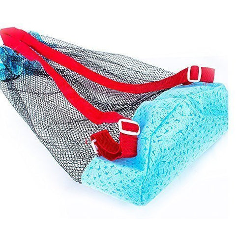 5Shome® Extra Large Sand Away Mesh Beach Bag Pack Pouch