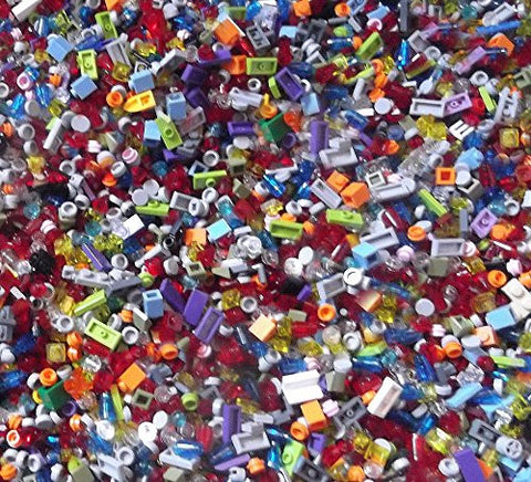 1000 TINY Lego Parts & Pieces WITH TOTE BAG!!!!