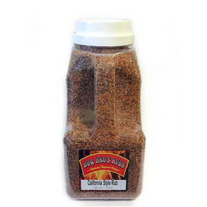 "BBQ Bros Rubs ""California Style"" 5 LBer TAILGATE EDITION"