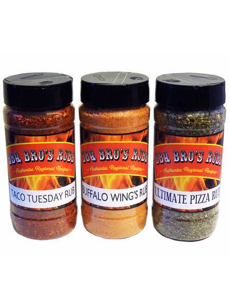 "BBQ Bros Rubs ""Happy Hour Style"""