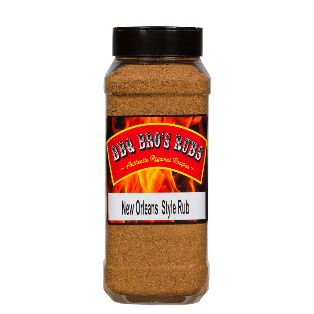 "BBQ Bros Rubs ""New Orleans Style"" 1 LBer"