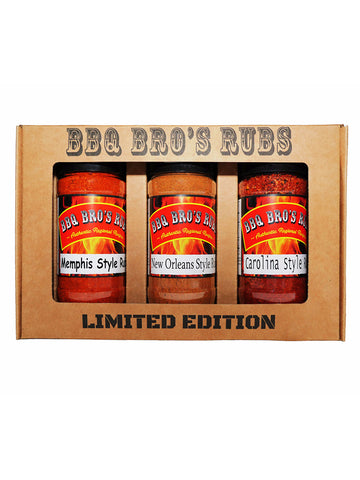"BBQ Bros Rubs ""LIMITED EDITION"" Southern Style Set"
