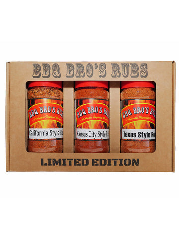"BBQ Bros Rubs ""LIMITED EDITION"" Western Style Set"