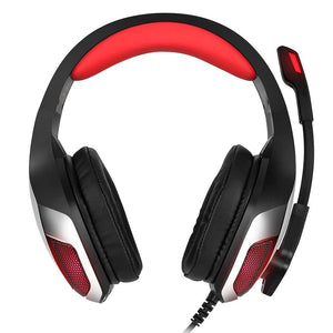 SaleGrabberStore | Bass Gaming Headphones with Mic LED Light for Mobile Phone PC Xbox PC Laptop - SaleGrabberStore