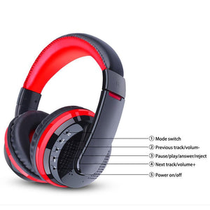 SaleGrabberStore | Wireless Bluetooth Headphones with Microphone - SaleGrabberStore
