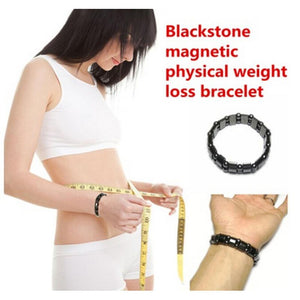 SaleGrabberStore | Black Stone Magnetic Weight Loss Bracelets - SaleGrabberStore