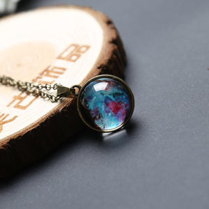 SaleGrabberStore | Universe In A Necklace Pendant - SaleGrabberStore