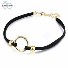 Choker Necklace With Stretch Velvet