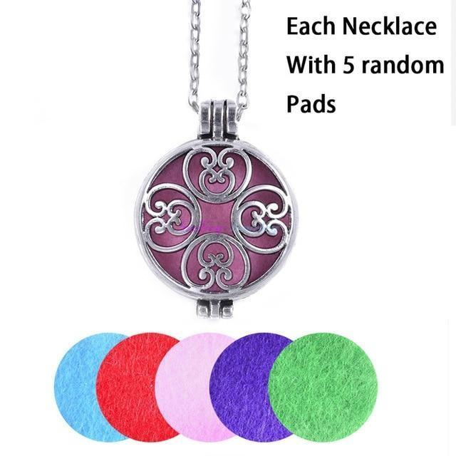 Personality Aromatherapy Diffuser Necklace - SaleGrabberStore