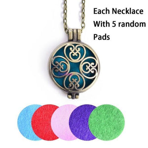 Personality Aromatherapy Diffuser Necklace | SaleGrabberStore