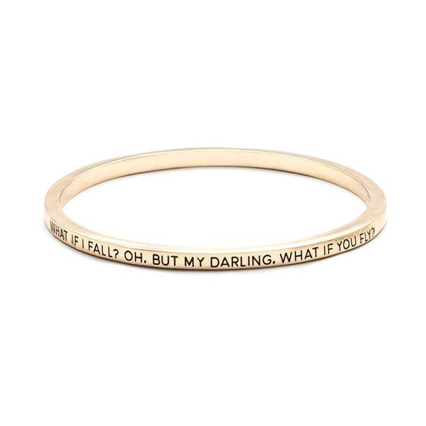 What If I Fall Bangle | SaleGrabberStore | https://youtu.be/vojkbY3XJYk