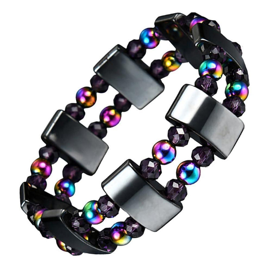Magnetic Hematite Healing Therapy Bracelet | https://youtu.be/vojkbY3XJYk