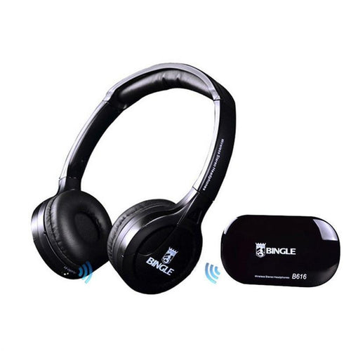 B616 Multifunction Stereo Wireless Headset Headphones with Microphone Fm Radio for Mp3 Pc Tv Audio Phones
