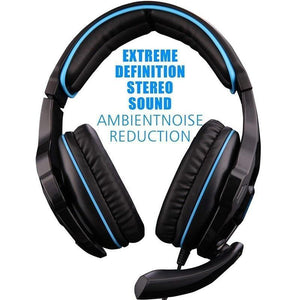 Gaming Headphones Headset Noise Reduction Game for New Xbox One PS4-SaleGrabber