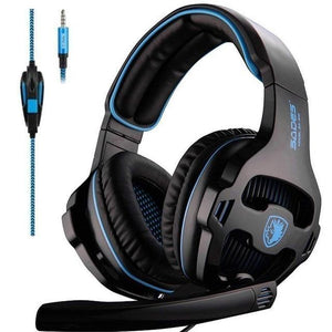 Gaming Headphones Headset Noise Reduction Game for New Xbox One PS4 - SaleGrabber