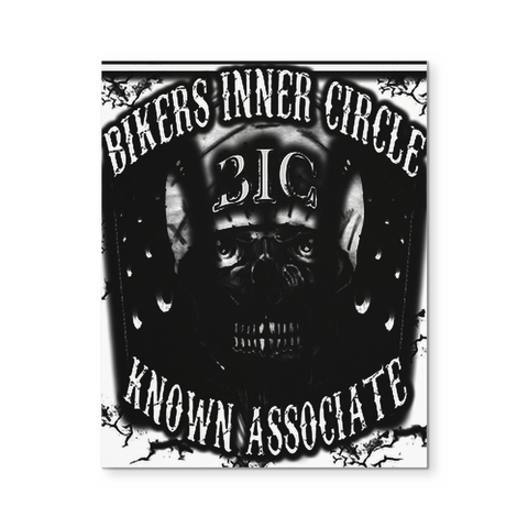 Bikers Inner Circle Known Associate Canvas Wall Art