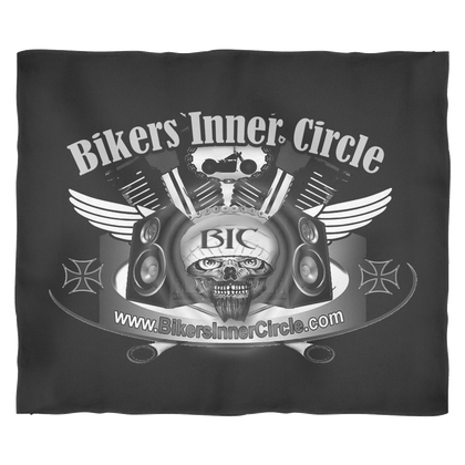 Bikers Inner Circle Fleece Blanket