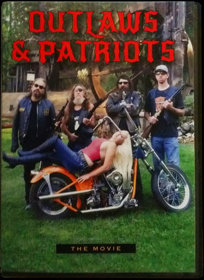 Outlaws & Patriots Biker Movie DVD