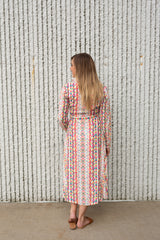 PAINTED LOVE IVORY DRESS