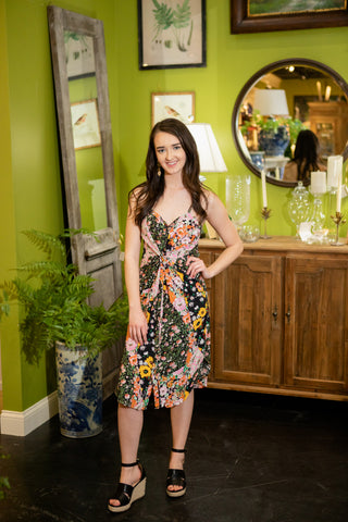 BEST OF THE BUNCH FLORAL DRESS