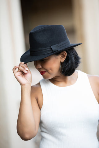 IF HAT'S WHAT IT TAKES FEDORA: BLACK