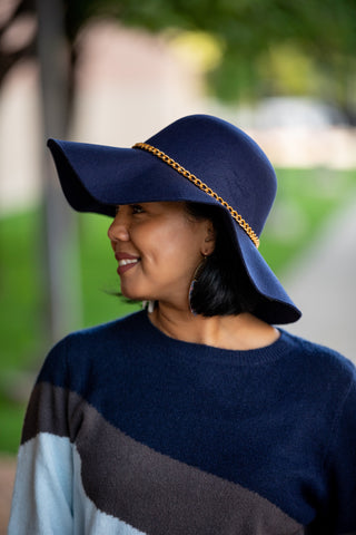 THAT'S A FLOP HAT: NAVY