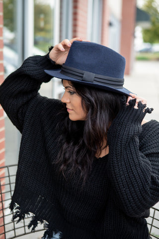 IF HAT'S WHAT IT TAKES FEDORA: NAVY