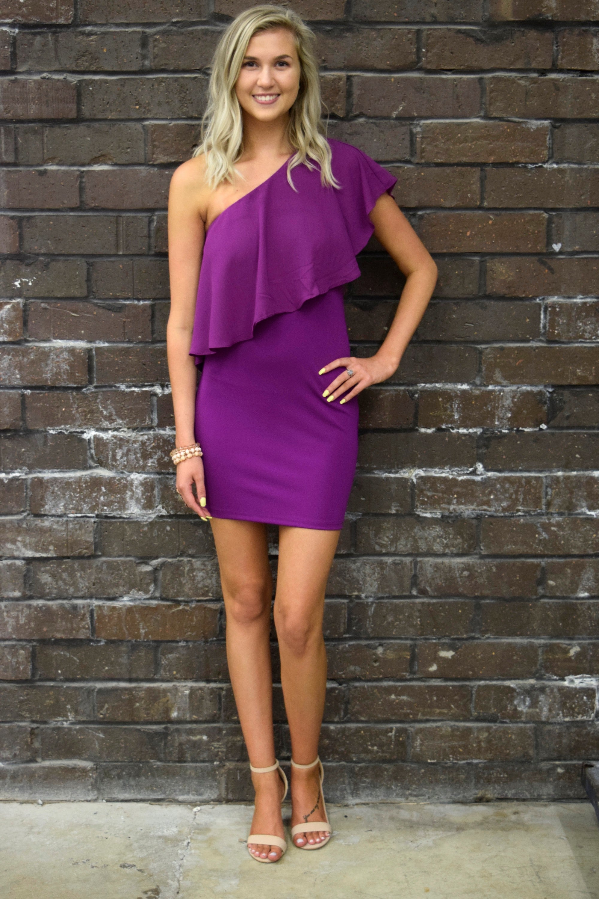 LEADING LADY VIOLET DRESS