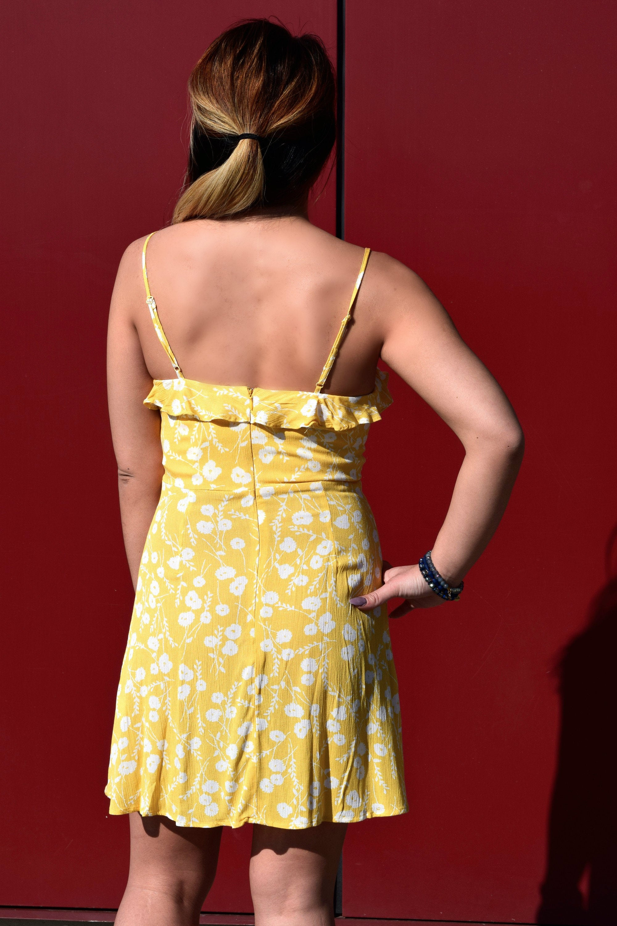 SUNSHINEY DAY YELLOW DRESS