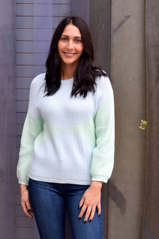 BREATH OF FRESH AIR MINT SWEATER