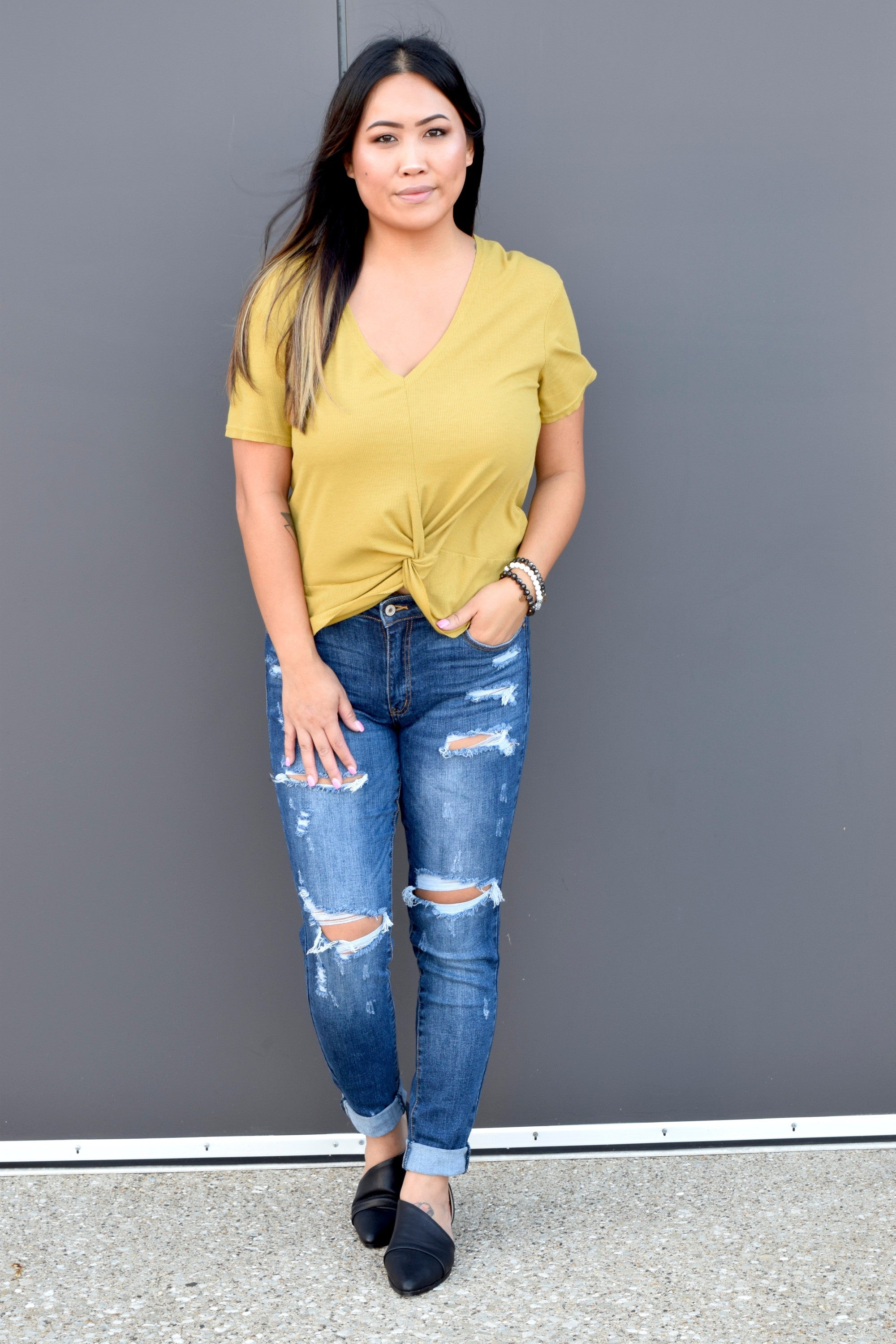 MUSTARD MUST HAVE TEE