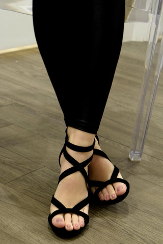 BEST FOOT FORWARD BLACK HEELS