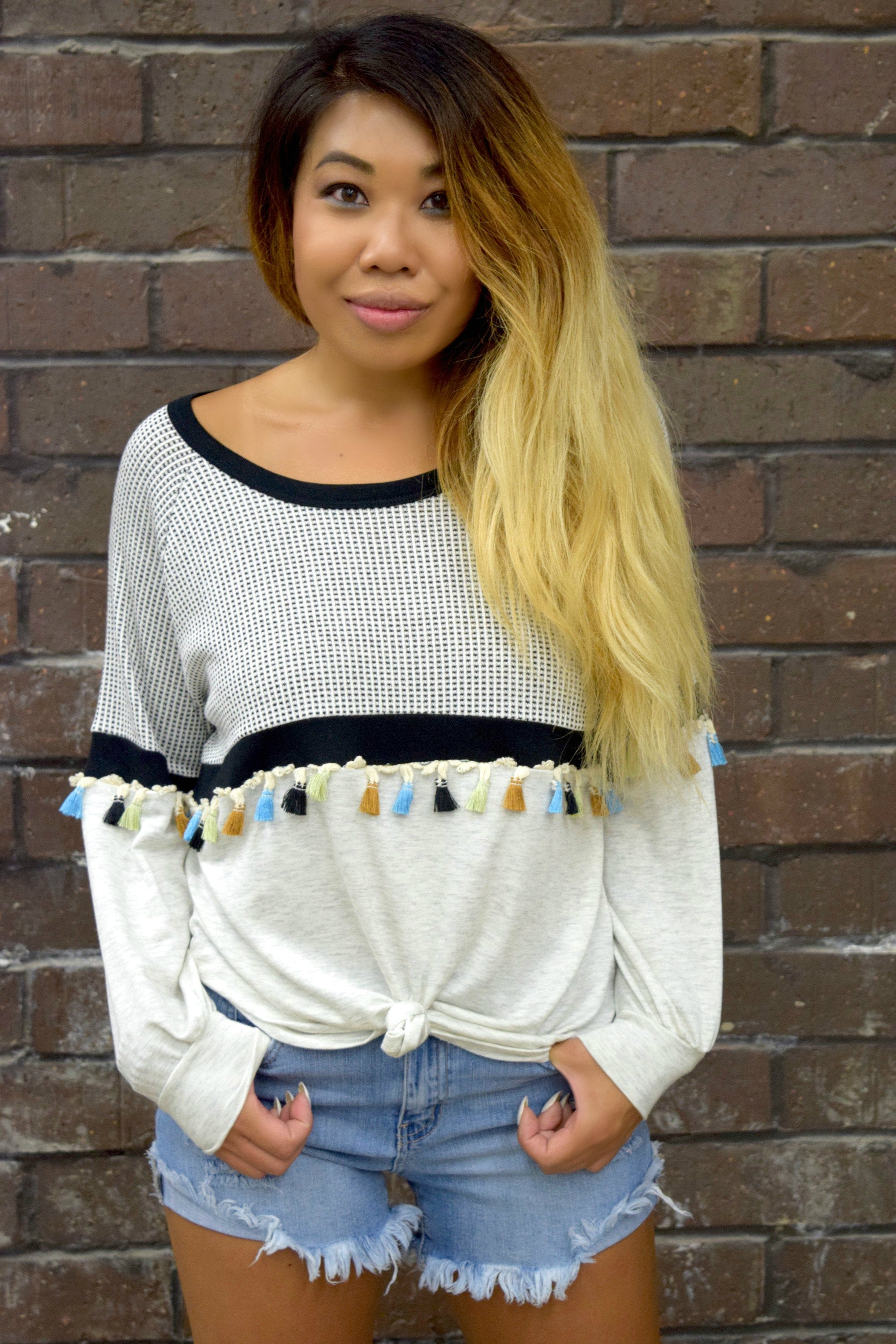 DON'T BE SUCH A TASSEL TOP
