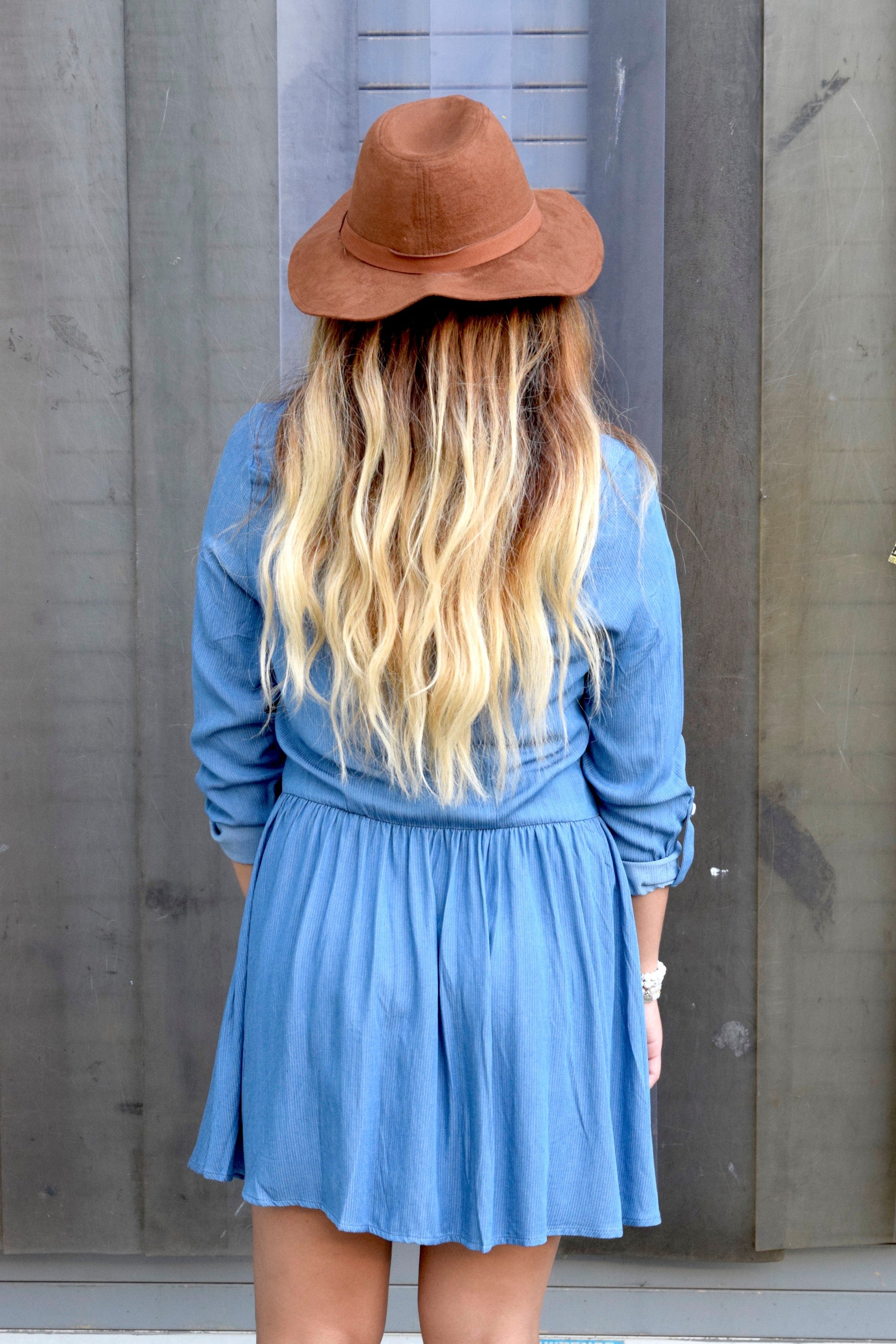 CHAMBRAY IT AIN'T SO DRESS