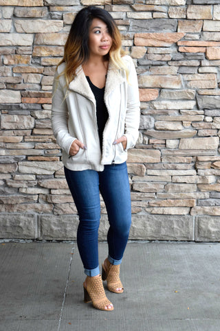 CALL IT A SHERPA THING JACKET