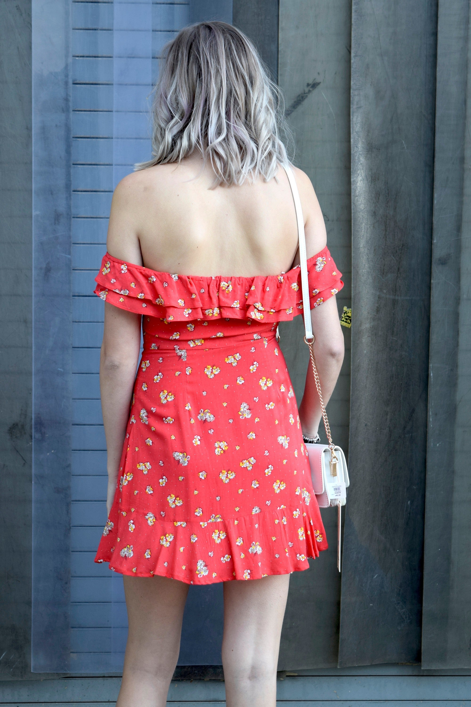 SHORT AND SWEETHEART RED DRESS