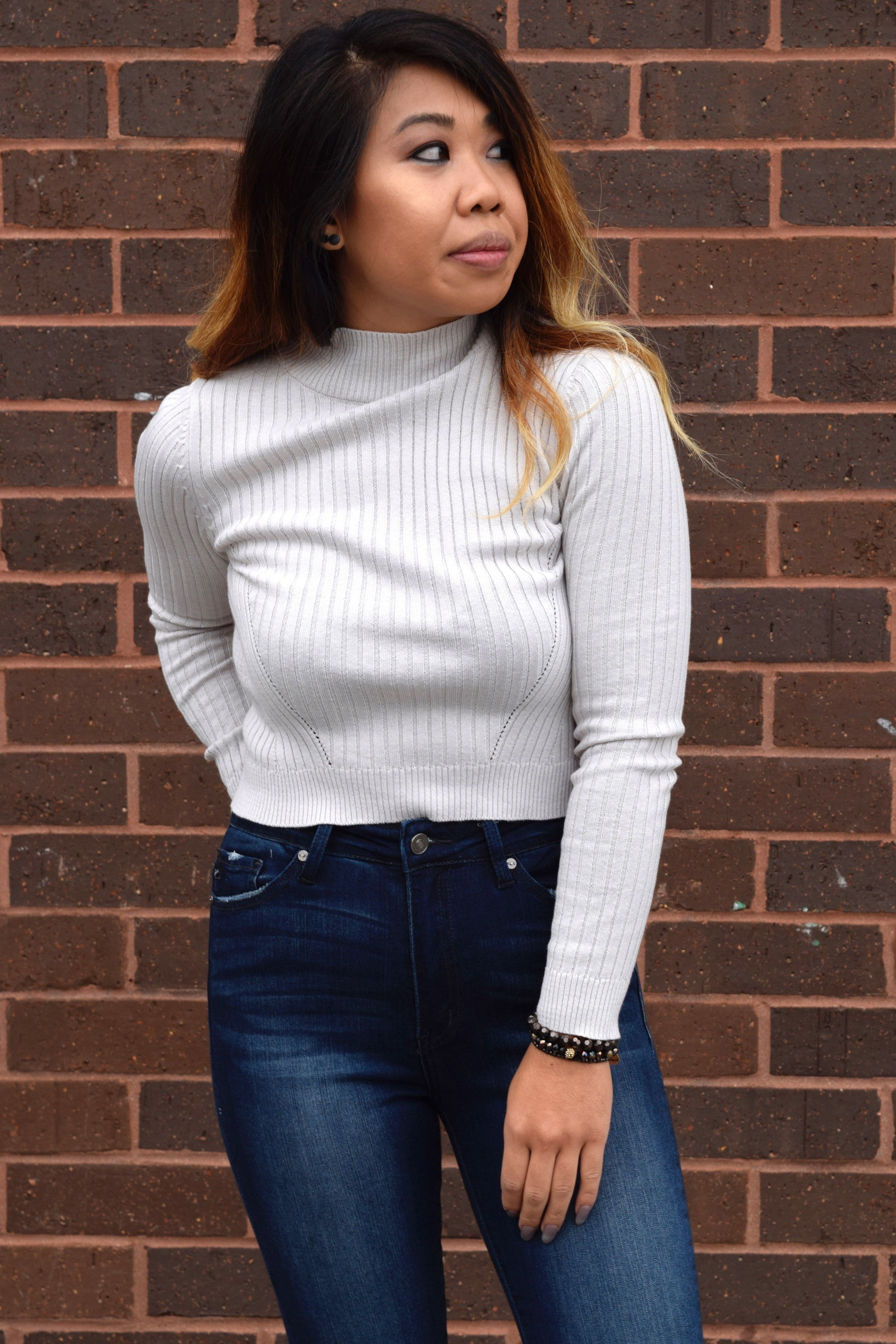 A STONE'S THROW TURTLENECK SWEATER