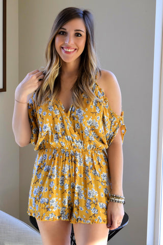 MUST YOU ASK MUSTARD ROMPER