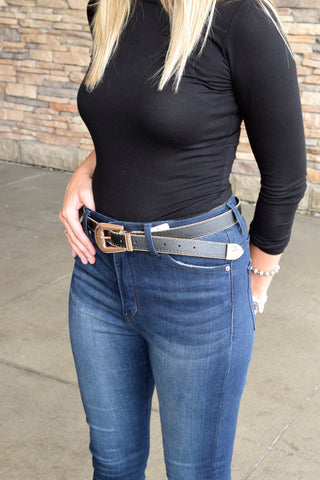 PICK A SIDE REVERSIBLE STUDDED BELT