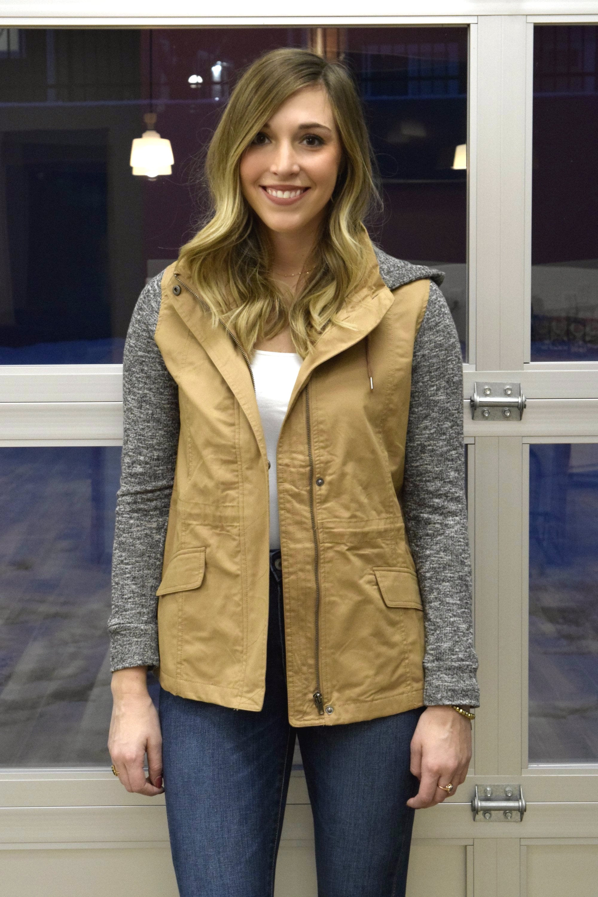 THE ONE TAUPE CARGO JACKET