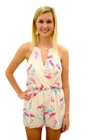 FIND YOUR FLOCK ROMPER