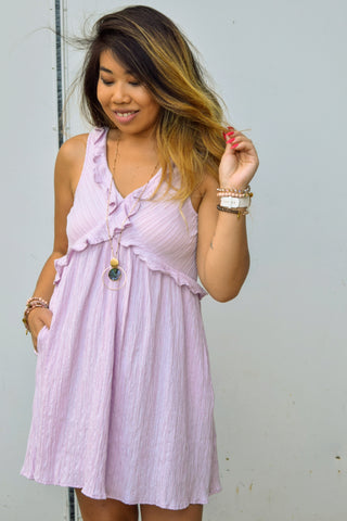 I LILAC THAT DRESS LAVENDER MINI