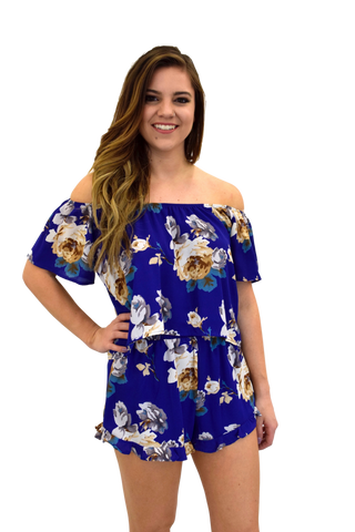 LA FLEUR FLORAL TWO PIECE: TOP