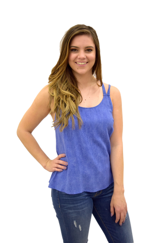 SHARK TANK BLUE TOP