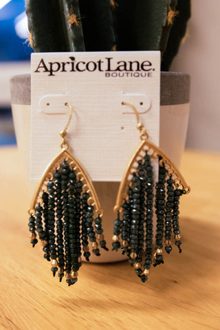 TO BEAD OR NOT TO BEAD TASSEL EARRINGS