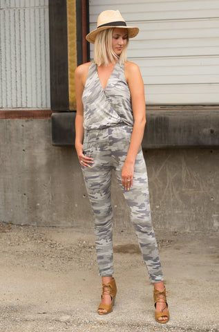 HIDE AND PLAY CAMO JUMPSUIT