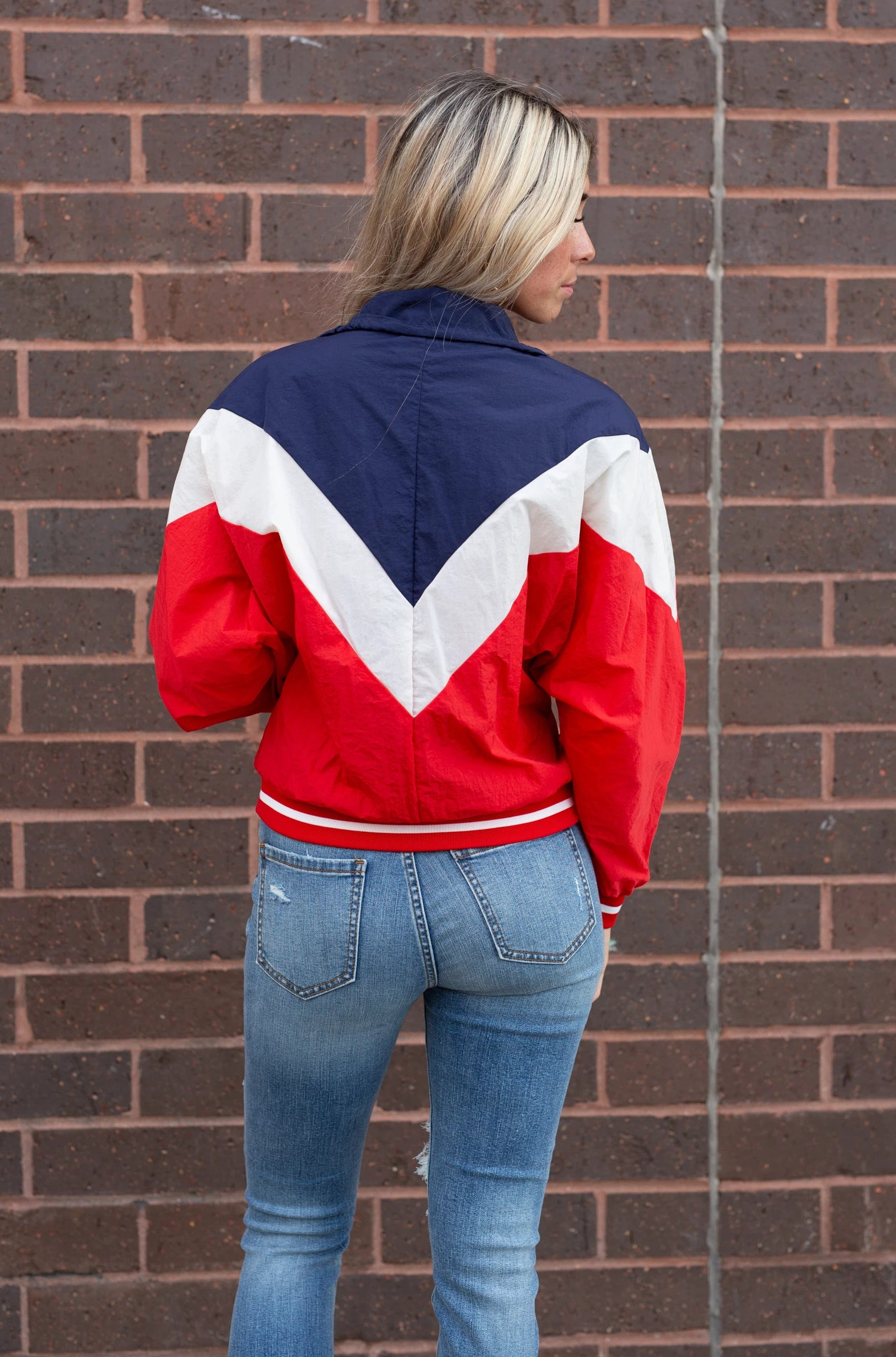 POWER TRIP RED TRACK JACKET