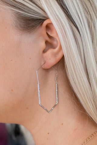 HEX ON YOU SILVER EARRINGS