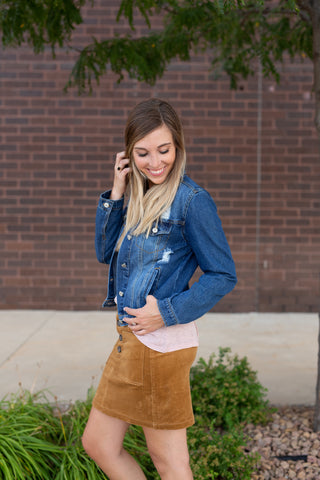 DENIM DARLING JEAN JACKET
