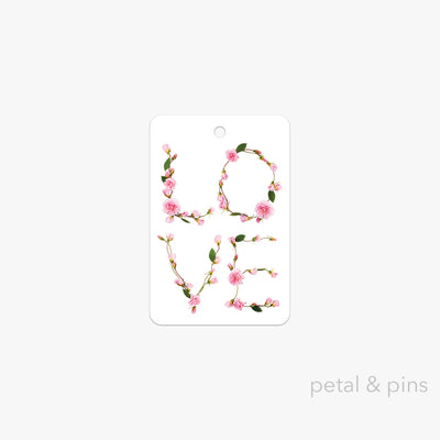 love gift tag by petal & pins